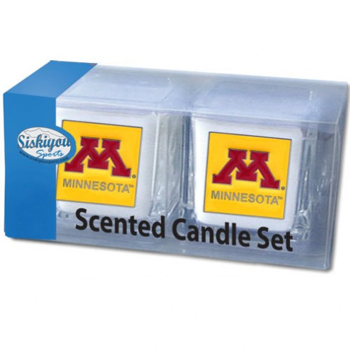 Minnesota Golden Gophers Scented Candle Set