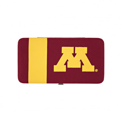 Minnesota Golden Gophers Shell Mesh Wallet