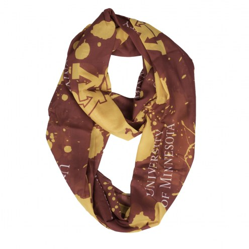 Minnesota Golden Gophers Silky Infinity Scarf