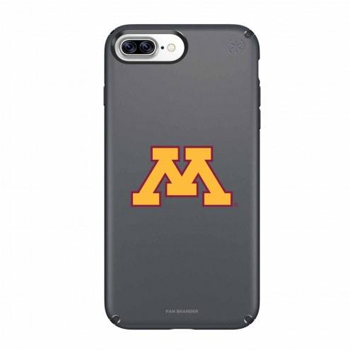 Minnesota Golden Gophers Speck iPhone 8 Plus/7 Plus Presidio Black Case