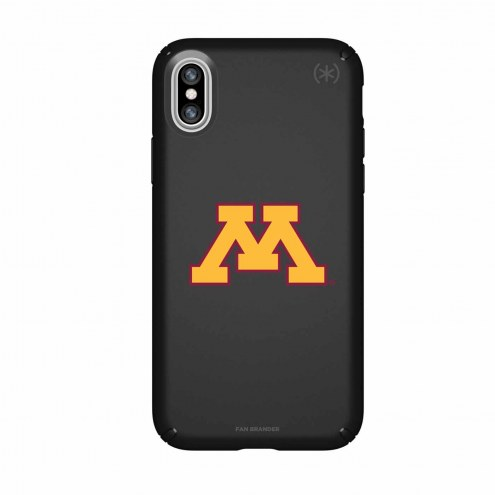 Minnesota Golden Gophers Speck iPhone X Presidio Black Case