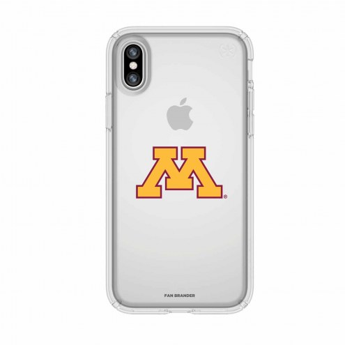 Minnesota Golden Gophers Speck iPhone X Presidio Clear Case