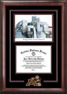 Minnesota Golden Gophers Spirit Diploma Frame with Campus Image