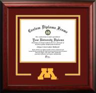 Minnesota Golden Gophers Spirit Diploma Frame