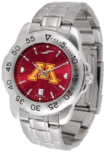 Minnesota Golden Gophers Sport Steel AnoChrome Men's Watch