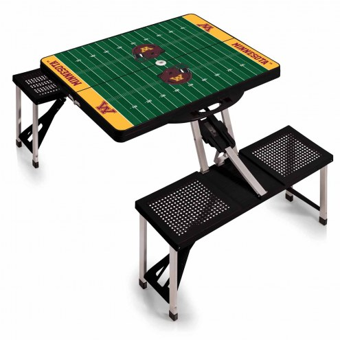 Minnesota Golden Gophers Sports Folding Picnic Table