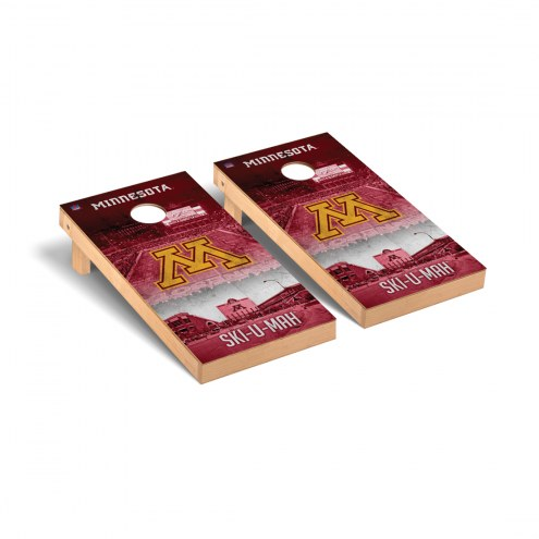 Minnesota Golden Gophers Stadium Cornhole Game Set