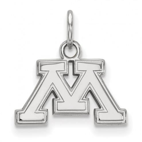 Minnesota Golden Gophers Sterling Silver Extra Small Pendant