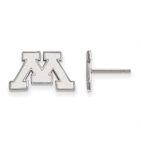 Minnesota Golden Gophers Sterling Silver Extra Small Post Earrings