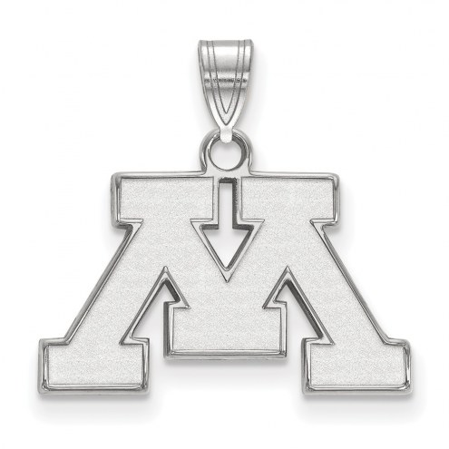 Minnesota Golden Gophers Sterling Silver Small Pendant