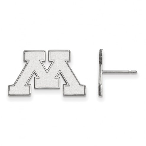 Minnesota Golden Gophers Sterling Silver Small Post Earrings