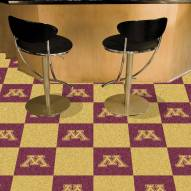 Minnesota Golden Gophers Team Carpet Tiles