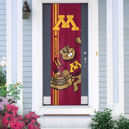 Minnesota Golden Gophers Door Banner