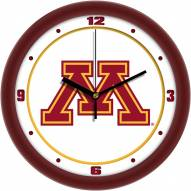 Minnesota Golden Gophers Traditional Wall Clock