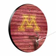 Minnesota Golden Gophers Weathered Design Hook & Ring Game