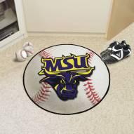 Minnesota State Mavericks Baseball Rug