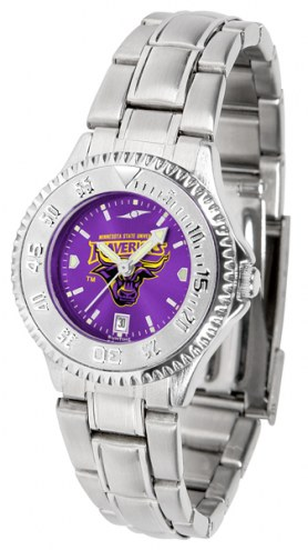 Minnesota State Mavericks Competitor Steel AnoChrome Women's Watch