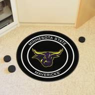 Minnesota State Mavericks Hockey Puck Mat
