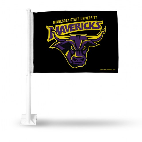 Minnesota State Mavericks Car Flag