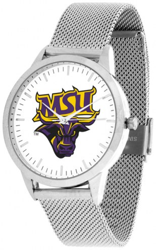 Minnesota State Mavericks Silver Mesh Statement Watch