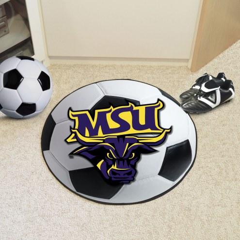 Minnesota State Mavericks Soccer Ball Mat