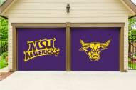 Minnesota State Mavericks Split Garage Door Banner