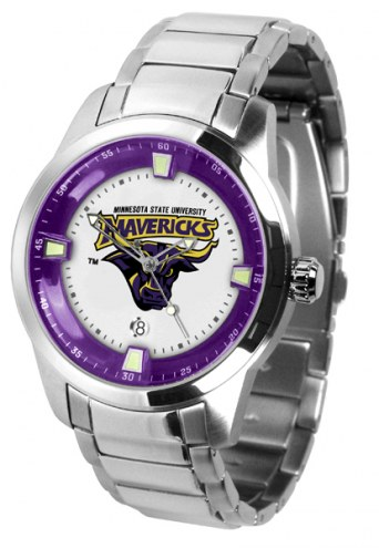 Minnesota State Mavericks Titan Steel Men's Watch