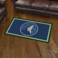 Minnesota Timberwolves 3' x 5' Area Rug