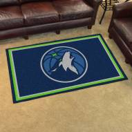 Minnesota Timberwolves 4' x 6' Area Rug