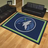 Minnesota Timberwolves 8' x 10' Area Rug