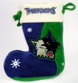 Minnesota Timberwolves Christmas Stocking