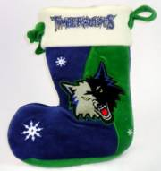 Minnesota Timberwolves Christmas Stocking