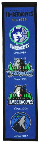 Minnesota Timberwolves Heritage Banner