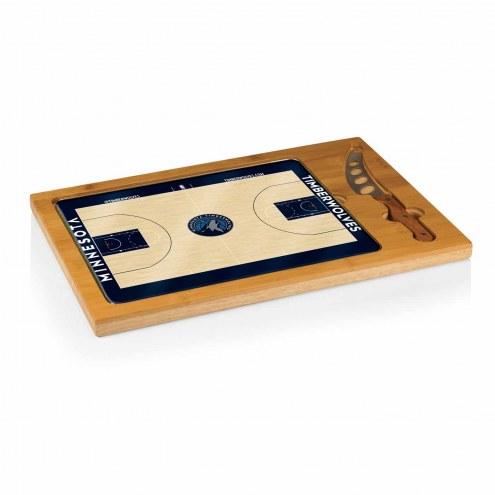 Minnesota Timberwolves Icon Cutting Board