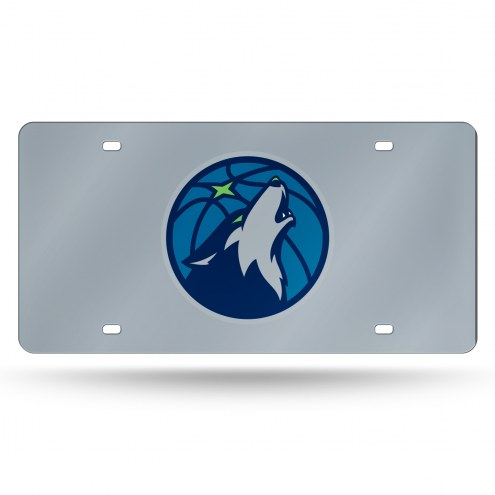 Minnesota Timberwolves Laser Cut License Plate