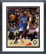 Minnesota Timberwolves Mo Williams 2014-15 Action Framed Photo