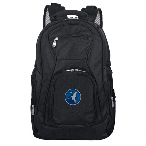 Minnesota Timberwolves Laptop Travel Backpack