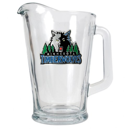 Minnesota Timberwolves NBA 60 Oz. Glass Pitcher