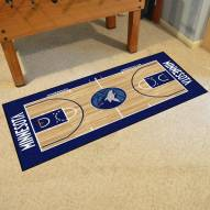 Minnesota Timberwolves NBA Court Large Runner