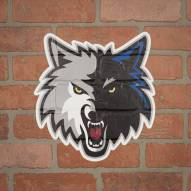 Minnesota Timberwolves Outdoor Logo Graphic
