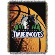 Minnesota Timberwolves Photo Real Throw Blanket