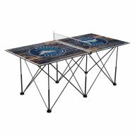 Minnesota Timberwolves Pop Up 6' Ping Pong Table