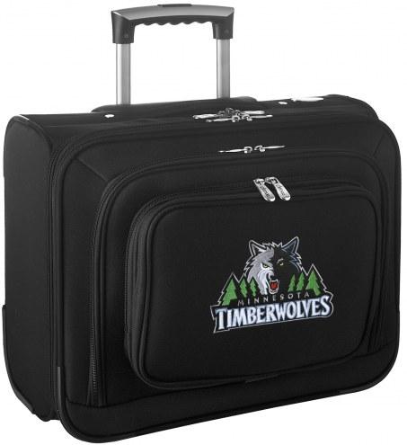 Minnesota Timberwolves Rolling Laptop Overnighter Bag