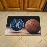 Minnesota Timberwolves Scraper Door Mat