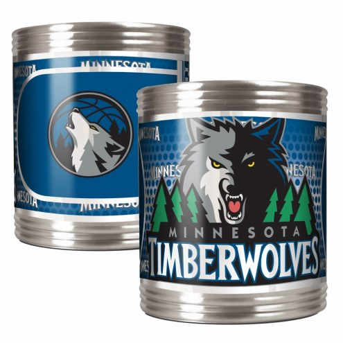 Minnesota Timberwolves Stainless Steel Hi-Def Coozie Set