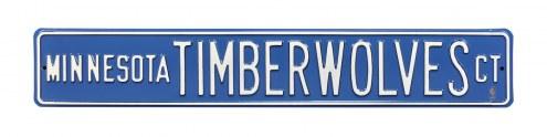 Minnesota Timberwolves Street Sign
