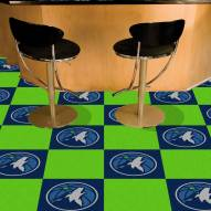 Minnesota Timberwolves Team Carpet Tiles