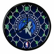 Minnesota Timberwolves Team Net Clock