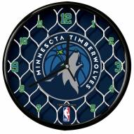 Minnesota Timberwolves Team Net Clock