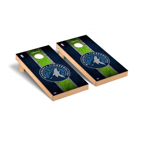 Minnesota Timberwolves Vintage Cornhole Game Set
